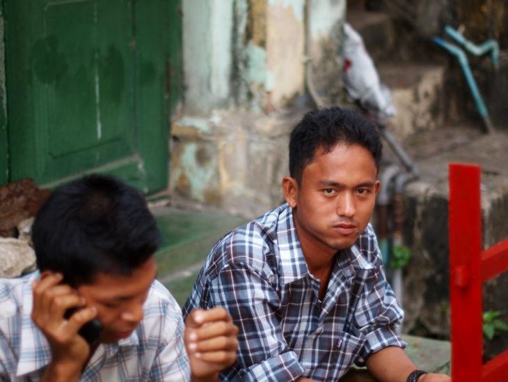 2人のミャンマー人