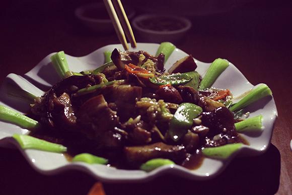 ミャンマーのビアガーデン料理2
