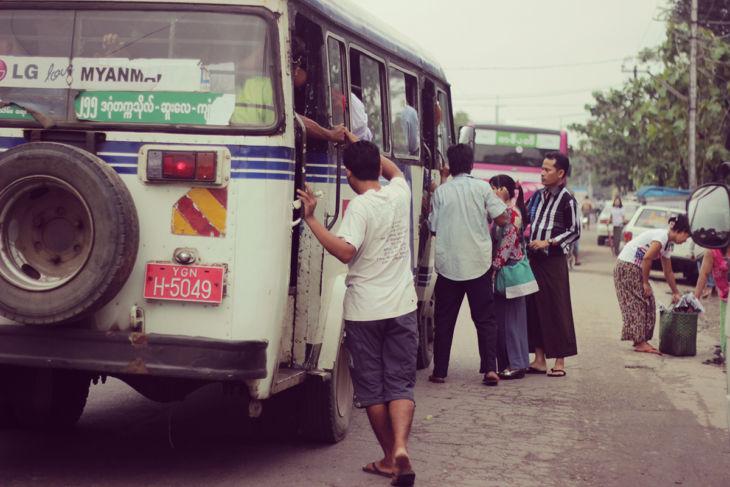 ミャンマーの日常風景15