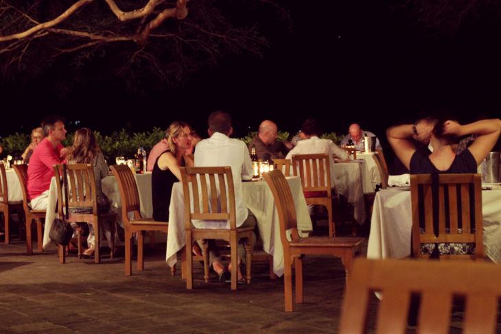 タンテ・ホテル 夕食