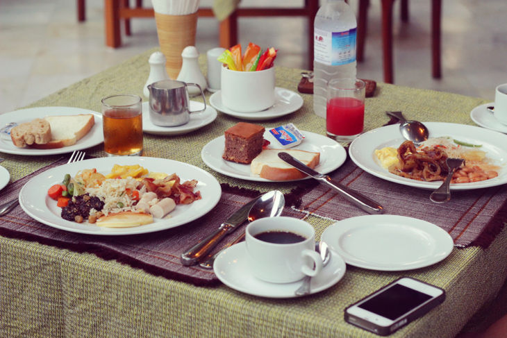 タンテ・ホテル 朝食