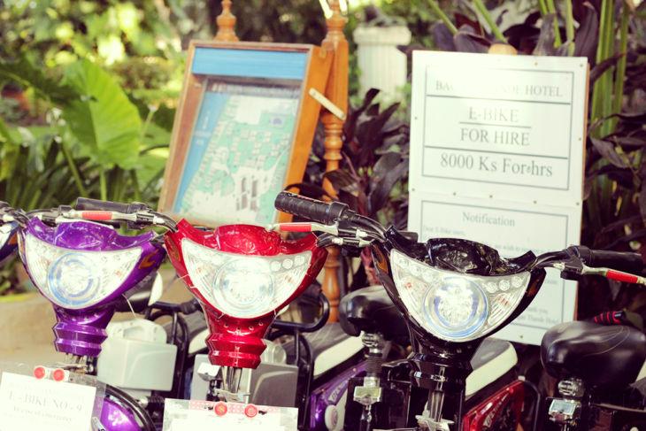 タンテ・ホテル 電動バイク